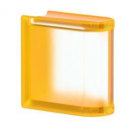 Luxfera Glassblocks MiniGlass meruňková 15x15x8 cm sklo MGSLEAPR