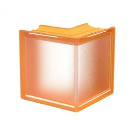Luxfera Glassblocks MiniGlass meruňková 15x15x8 cm sklo MGSCORAPR