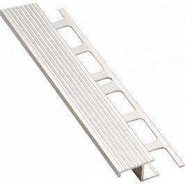 Lišta schodová Z hliník přírodní, délka 250 cm, výška 10 mm, šířka 20 mm, ALSC10250