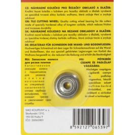 Náhradní kolečko pro řezačky obkladů a dlažeb NAHRKOL2266