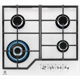 Plynová varná deska Electrolux bílá KGG6436W