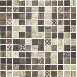 Skleněná mozaika Mosavit Forest tilos 30x30 cm mat FORESTTI