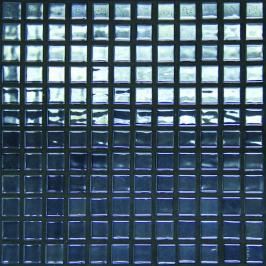 Skleněná mozaika Mosavit Metalico grafito 30x30 cm lesk METALICOGF