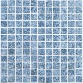 Skleněná mozaika Mosavit Burbujas 30x30 cm lesk BURBUJASANTISLIP