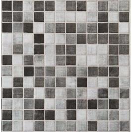 Skleněná mozaika Mosavit Riviere gris 30x30 cm mat RIVIEREGR