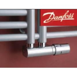 P.M.H. Danfoss VHX-DUO připojovací sada ventilů, středové připojení, chrom - 013G4279