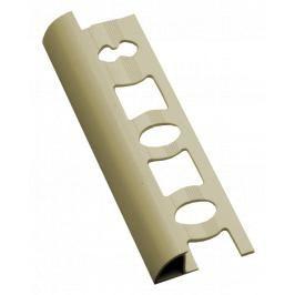 Lišta ukončovací oblá PVC jasmín, délka 250 cm, výška 10 mm, L1025020
