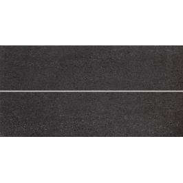 Dekor Rako Unistone černá prořez 20x40 cm mat WIFMB613.1