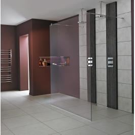 Sprchová zástěna walk-in 140x202 cm Ideal Standard Wetroom chrom lesklý L6226EO
