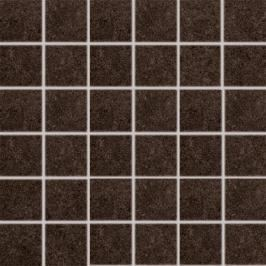 Mozaika Rako Rock hnědá 30x30 cm mat DDM06637.1