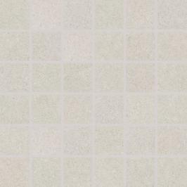 Mozaika Rako Rock bílá 30x30 cm mat DDM06632.1