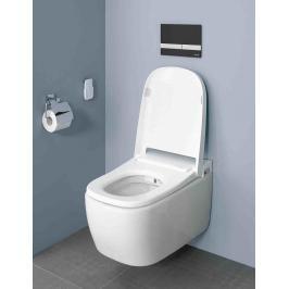Závěsné WC s bidetem Vitra V Care, zadní odpad, 60cm VCARECOMFORT