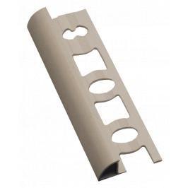 Lišta ukončovací oblá PVC bahama, délka 250 cm, výška 8 mm, L82501