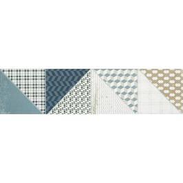 Dekor Rako Deco mix barev 15x60 cm mat DDPSU659.1