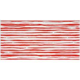 Dekor Fineza Happy červená 20x40 cm lesk DHAP40RE