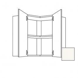 Kuchyňská skříňka s dvířky horní Naturel Erika24 60x65x60 cm bílá lesk 450.WE6001L