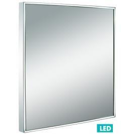Zrcadlo s LED osvětlením Naturel Iluxit 60x60 cm chrom ZIL6060LED