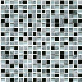 Kamenná mozaika Premium Mosaic Stone šedá 30x30 cm mat STMOS15MIX1