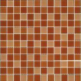 Skleněná mozaika Premium Mosaic béžová 30x30 cm lesk MOS25MIX8