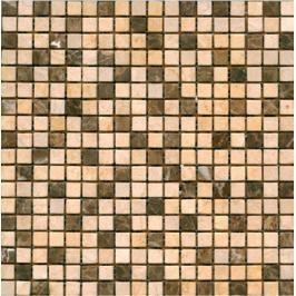 Kamenná mozaika Premium Mosaic Stone béžová 30x30 cm mat STMOS15MIX4