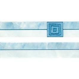 Listela Multi Laura modrá 5x25 cm lesk WLAGE090.1