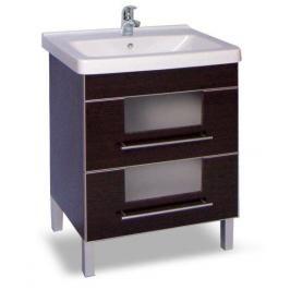 Koupelnová skříňka s umyvadlem Naturel Wenge 65x48,5 cm wenge WENGE65DV
