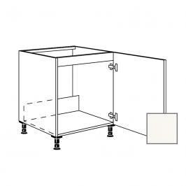 Kuchyňská skříňka dřezová spodní Naturel Erika24 60x72x56 cm bílá lesk 450.SPUD60.R
