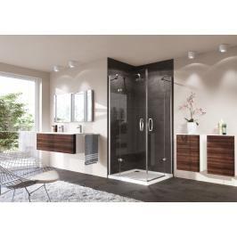 Sprchové dveře 80x80x190 cm levá Huppe Strike chrom lesklý 430301.092.322
