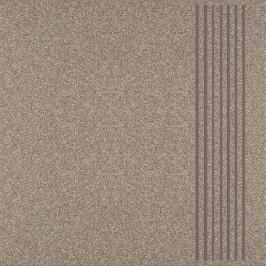 Schodovka Multi Kréta hnědá 30x30 cm, mat