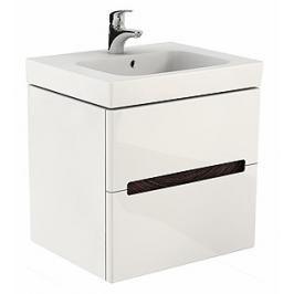 Koupelnová skříňka pod umyvadlo Kolo Modo 59x48x55 cm bílá lesk 89425000