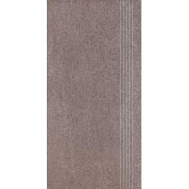 Schodovka Rako Unistone šedo-hnědá 30x60 cm mat DCPSE612.1