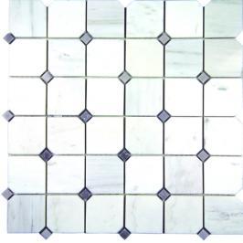 Kamenná mozaika Mosavit Victoria blanco cm lesk VICTORIABL