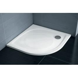 Sprchová vanička čtvrtkruhová Ravak Elipso 100x100 cm litý mramor XA23AA01010