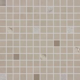 Mozaika Rako Up šedohnědá 30x30 cm lesk WDM02509.1