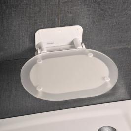 Sprchové sedátko Ravak Ovo Chrome bílá B8F0000028