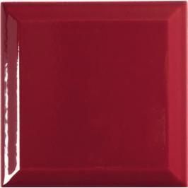 Dlažba Tonalite Diamante bordeaux diamant 15x15 cm lesk DIA562