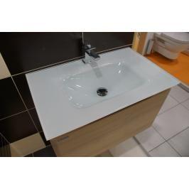 Koupelnová skříňka s umyvadlem Naturel Ancona 90x46 cm akácie ANCONAS90Z