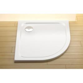 Sprchová vanička čtvrtkruhová Ravak Chrome 80x80 cm litý mramor XA244401010