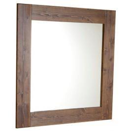 Zrcadlo Naturel Country 80x80 cm hnědá SIKONSB051