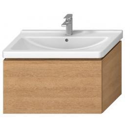 Koupelnová skříňka pod umyvadlo Jika Cubito 84x46,6x48 cm dub H40J4263015191