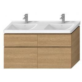 Koupelnová skříňka pod umyvadlo Jika Cubito 128x46,7x68,3 cm dub H40J4274025191