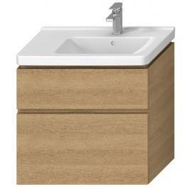 Koupelnová skříňka pod umyvadlo Jika Cubito 74x42,6x68,3 cm dub H40J4254045191