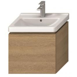 Koupelnová skříňka pod umyvadlo Jika Cubito 55x32,2x48 cm dub H40J4223015191