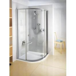 Sprchový kout čtvrtkruh 80x80x190 cm Ravak Pivot chrom matný 37644U00Z1