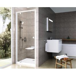 Sprchové dveře 80x190 cm Ravak Pivot chrom matný 03G40U00Z1