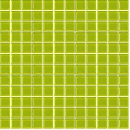 Skleněná mozaika Premium Mosaic zelená 30x30 cm lesk MOS25PI