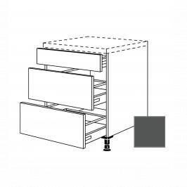 Kuchyňská skříňka zásuvková spodní Naturel Terry24 60x72x56 cm břidlicová šedá 334.UA60