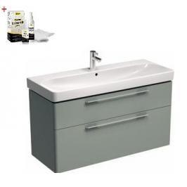 Koupelnová skříňka s umyvadlem Kolo Kolo 120x48x71 cm platinová šedá SIKONKOT1120PS