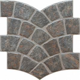 Dlažba Azuliber Calzada negro 35x35 cm mat CALZADANE