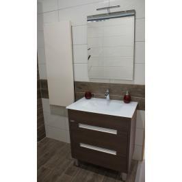 Koupelnová skříňka s umyvadlem Naturel Modena 75x46 cm dub šedý MODENAS75Z